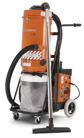 Concrete Vacuums & Dust Suppression in Metro Detroit Michigan - S36